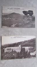 Lot de 2 CPA 70 Haute-Saône Vesoul Ecole normale d'institutrice, sabot de Frotey