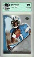 CALVIN JOHNSON  2007 Upper Deck Rookie Premiere Card PGI 10