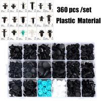 360 pcs /set plastic clips for Car Fender Bumper Door Body fastener Universal