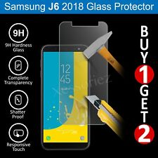 For Samsung Galaxy J6 (2018) Glass Screen Protector - 100% Genuine Tempered