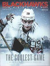 2014-15 Chicago Blackhawks Hockey Program Jonathan Toews Winter Classic Preview