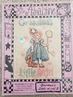 Grandma's Little Angel NEW Alma Lynne Counted Cross stitch kit Granddaughter