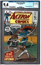ACTION COMICS #389 CGC 9.4 (6/70) DC Comics white pages
