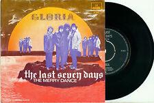 "UNIT GLORIA (Robert Long) the Last Seven Days 1969 DUTCH PS EX+ VINYL SINGLE 7"""