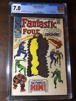 Fantastic Four #67 (1967) - Origin and 1st of HIM (Warlock)!!! - CGC 7.0 - Key!!