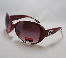 CG Eyewear Sunglasses Burgundy Red Women's Ladies Designer Fashion Shades New