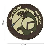 Morale Patch 3D  pvc Spartan brown  airsoft