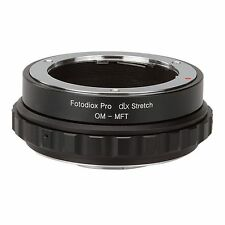 Fotodiox Objektivadapter DLX Stretch Olympus OM lens to Micro Four Thirds Camera