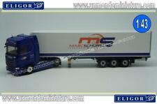Scania R450 Semi Frigo Transports Schubel ELIGOR 1/43 ref 116623