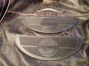 Harley Trittbretter Gummis VL WL WLC WLA UL Footboard Gums Old School Flathead