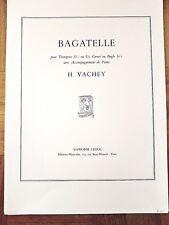 H. Vachey: Bagatelle (Trumpet/Piano Sheet Music)