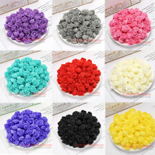 500 Mini Foam 3cm Roses Wedding Craft Flower Party Decoration Favour 16 Colour