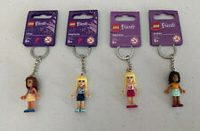 LEGO Friends Keychain Lot of 4 (Stephanie, Andrea, & Olivia) - New