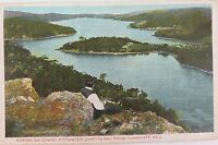 .1906 GD & DL SERIES COLOUR POSTCARD. KURINGAI CHASE FROM FLAGSTAFF HILL.