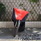 Waterproof Bicycle Bike Cover Rain Outdoor Dust Protector Sun Snow UV For 1 Bike
