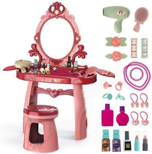 Toddler dressing table set-girl's toy dressing table, toys for dressing up games
