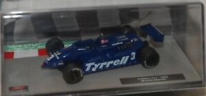 1/43 Ixo F1 Collection Tyrrell 011 #3 Alboreto 1982