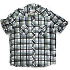 Canyon River Blues Men Size XL Button Down Shirt Short Sleeve Classic Fit