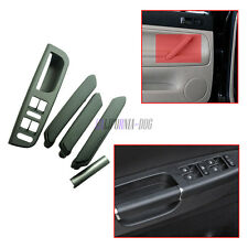5pcs Black Interior Door Handle Window Control Panel For VW Passat B5 98-05 LHD
