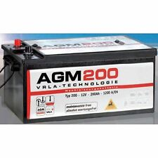 Batteria accumulatore Panther AGM – VRLA 200 A 12 V