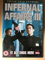 Internal Affairs 3 DVD III 2003 Hong Kong Action Classic with Anthony Wong