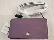 COACH COLOR BLOCK (Dusty Lavender) 72160 CROSS-BODY//BELT BAG NWT, GIFT IDEA