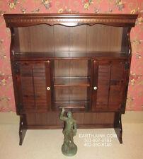 Ethan Allen Shutter Door Bookcase Top 12 4057 Pine Custom Room Plan 40 Wide