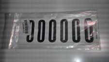 "Number Label, 0, White 3"" H, Pk 5 #34099W0 (M1000-8Agp1)"