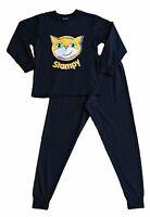 Boys Girls StampyLongNose Pixel Stampy Long Pyjamas 7 to 12 Years BLACK FACE