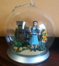 Bradford Exchange Wizard Of Oz Ornaments Glass Globes Figurines We Wecome You