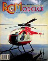 Radio Control Modeler RCM Magazine November 1987 Hughes 500D m152