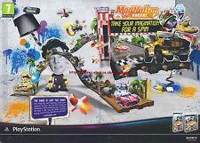aystation Modnation Racers 2010 Magazine 2 Page Advert #4669