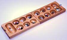 Kalaha Hus Bao Steinchenspiel Edelsteine Spiel Mancala Wari Samena Holz -2. Wahl