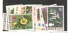 Bermuda, Postage Stamp, #255-271 Mint Hinged, 1970 Flowers