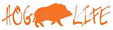 Hog Life Design B Vinyl Decal Sticker Hog Hunting Hunter Boar Feral Country