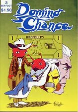 Domino Chance 5 issue lot, independent, 1982-7, B&W