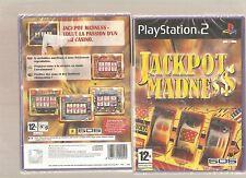 JACKPOT MADNESS !!! Un Véritable Casino à la Maison sur PS 2: Jeu NEUF Blister