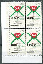 UPAEP MEXICO Yvert # 1615 Block of 4 Mint NH