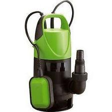 Pompe submersible immergée pour eaux claires 9000 L//h 400 W SILVERLINE 262231