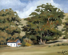 HARMONY LANDSCAPE Oil Painting 11 X 14 ART PRINT Signed by Artist DJR