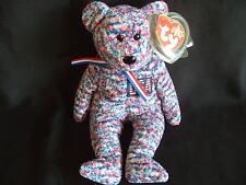 Nuovo con etichette Ty Beanie Baby Bear Usa