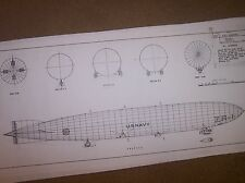 airship shenandoah  ship model plan