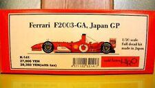 MFH Model Factory HIRO 1/20 Ferrari F2003GA JAPAN GP resin model kit K-141