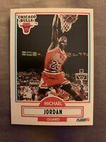 1990-91 Fleer Michael Jordan #26 Basketball Card 🔥🔥NEAR MINT!! PLEASE READ