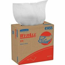 WYPALL X70 Wipers, POP-UP Box, 9 1/10 x 16 4/5, White, 100/Box