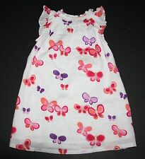 New Gymboree White Butterfly Summer Sun Dress Size 12-18 Months NWT Sunset Glow