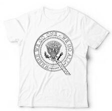 QAnon President Seal Tshirt Unisex - Conspiracy, Deep State, Plot