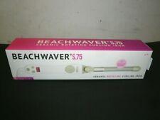 "Beachwaver S.75 Ceramic Rotating Curling Iron .75"" Smaller Barrel White"