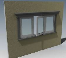 TIMBER CASEMENT WINDOWS - V03 - Building Plans 2D & 3D - MAKE YOUR OWN & SAVE $$