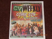 CV WEEKLY MAGAZINE COMIC CON PALM SPRINGS ISSUE LULU JUNE 30 TO JULY 6 2016